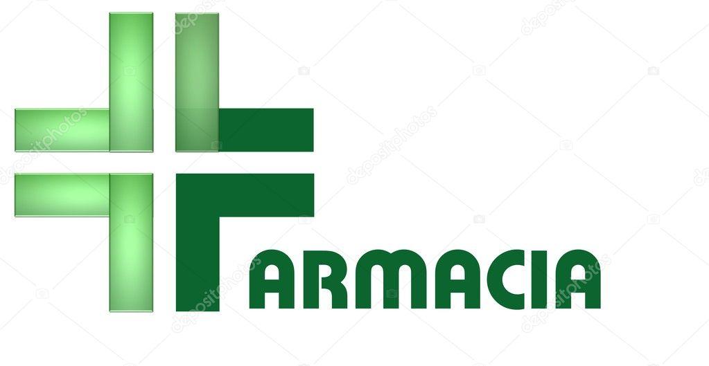 logo tipo farmacia:
