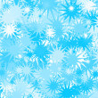 Abstract background with blue stars . Christmas — Stock Photo