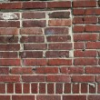 Royalty-Free Stock Photo: Red bricks of a wall