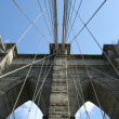 Brooklyn bridge detail - Foto Stock