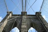 Brooklyn bridge detail — Stockfoto