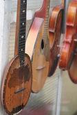 Vintage müzik aletleri — Stok fotoğraf