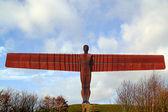 De engel van het noorden, gateshead — Stockfoto