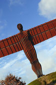 The Angel of the North, Gateshead — Stock Photo