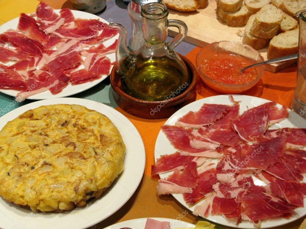 Comida española — Stock Photo © I.Martin #8096655
