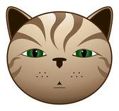 Gato pardo — Stock Vector