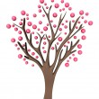 Pink tree - Stock Photo
