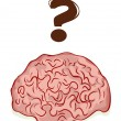 Stock Vector: Brain