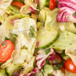 Mixed salad closeup — Stock Photo