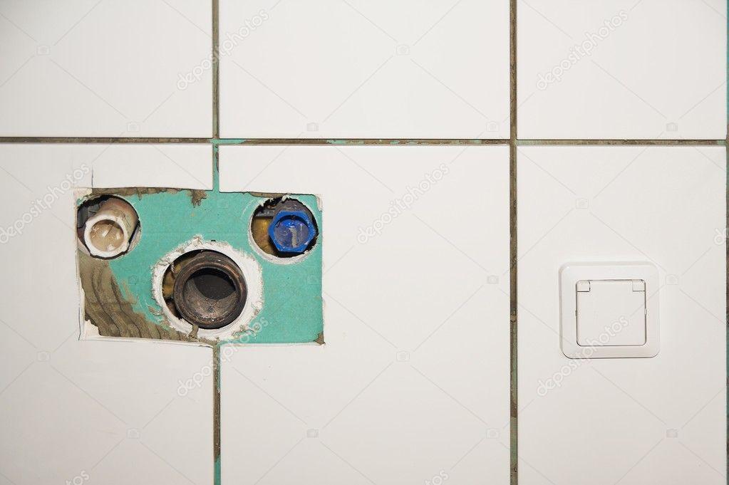 Ricostruzione bagno — foto stock © sasel77 #10599020