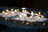 Tealights — Stock Photo