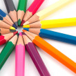 Colored pencils — Stock Photo #8016243