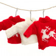 Christmas pullover — Stock Photo