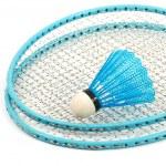 Badminton rackets — Stock Photo #8016313