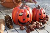 Still life Halloween — Stock Photo