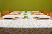 Table ready laid — Stock Photo