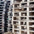 Stacks of pallets - Stock fotografie