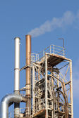 Factory chimney — Stock Photo