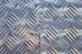 Aluminiowych checker płyta — Zdjęcie stockowe