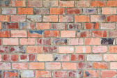 Clinker brick front — Stock Photo