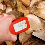 Wood moisture meter — Stock Photo