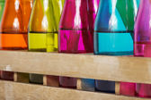 Colorful bottles — Stock Photo