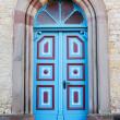 Colorful church door — Stock Photo #9675095