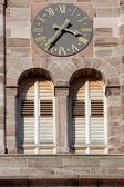Detail church tower — Stock Photo