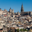 View of Toledo, Castilla la Mancha, Spain - Stock Photo
