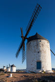 Windmills in Consuegra, Castilla la Mancha, Spain — Stock Photo
