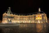 Square of the Bourse, Bordeaux, Aquitaine, France — Stock Photo