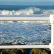 Sea in Gijon - Stock Photo