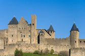 Walls of Carcassonne (France) — Stockfoto