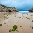 Beach of Cuevas del Mar, Nueva de Llanes, Asturias, Spain — Stock Photo #7983708