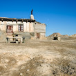 Stock Photo: Refuge in Bardenas reales, Navarra, Spain