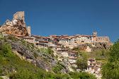 Panorama av frias, burgos, castilla y leon, Spanien — Stockfoto