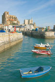 Port of Castro Urdiales, Cantabria, Spain — Stock Photo