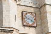Clock of the cathedral in Leon — Stockfoto
