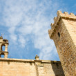 Tower of the old quarter of Caceres — Stock Photo
