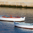 Stock Photo: Boats in Figueras, Asturias, Spain