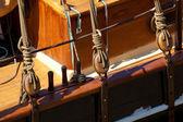 Boat in Ferrol, La Coruña, Galicia, Spain — Foto Stock