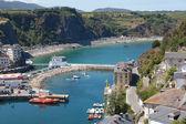 Puerto de luarca, asturias, españa — Foto de Stock
