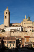 Cathedral of Segovia, Castilla y Leon, Spain — Stock Photo
