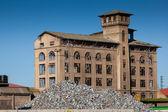 Industry in Bilbao, Bizkaia, Spain — Stock Photo