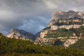 Mountains of the Canyon of Añisclo, Ordesa national park, Huesca, Spain — Stock Photo