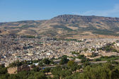 Panoramic of Fez, Morocco — Stock Photo