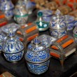 Stock Photo: Vessels in Fez, Marruecos