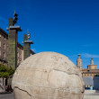 Square of the Pilar, Zaragoza, Aragon, Spain - Foto de Stock