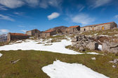 Country houses in Picos de Europa, Asturias, Spain — Stock Photo