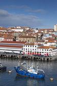 Porto de bermeo, biscaia, espanha — Fotografia Stock